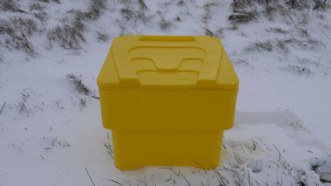 60 Litre Medium Grit Bin with Salt and Scoop