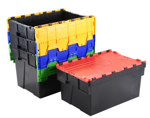 77 Litre Attached Lid Containers group