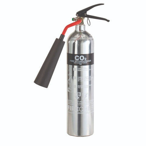 2 Kg Polished CO2 Fire Extinguisher (PXC2)