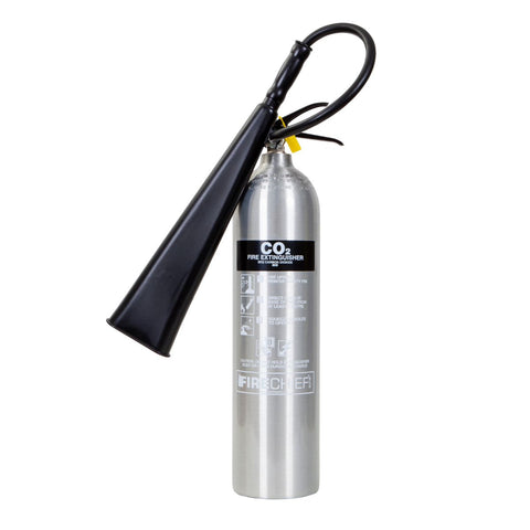 5 Kg Polished CO2 Fire Extinguisher (PXC5)