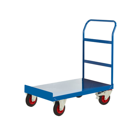 Single Handle Platform Trolley with Open End RTPTS690OBXX Blue