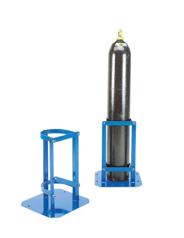 Hinged Latch Gas Cylinder Stands 230mm