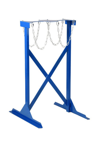 Double Sided Gas Cylinder Floor Stands (100 to 180mm Diameter) 4 cylinders