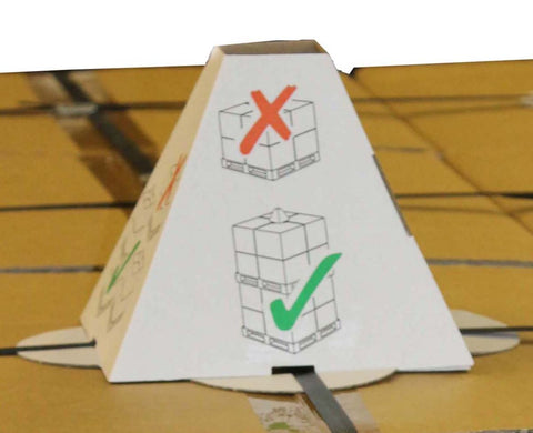 Pallet-Topper Anti-Stack Warning Sign