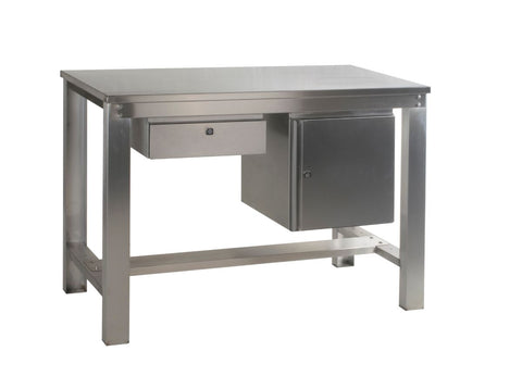 Stainless Steel Workbench Drawers & Cupboards