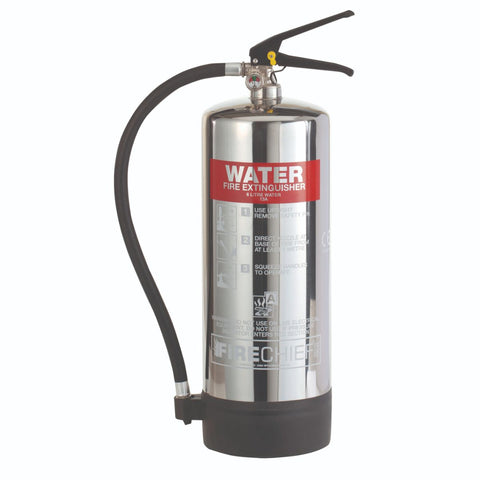 6 Ltr Stainless Steel Water Fire Extinguisher (PXW6)