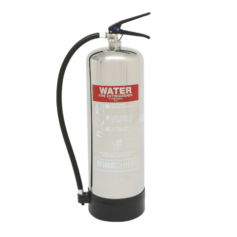 9 Ltr Stainless Steel Water Fire Extinguisher (PXW9)