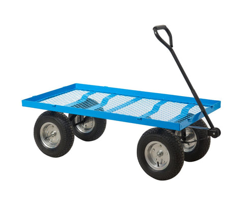 Puncture-Proof Platform Trolley - Mesh Base