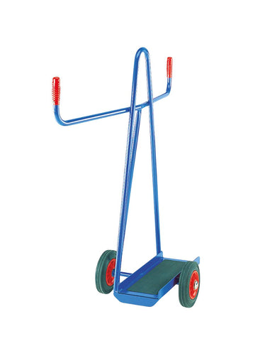 Balance Plasterboard Trolley with Ribbed Rubber Base Solid Rubber