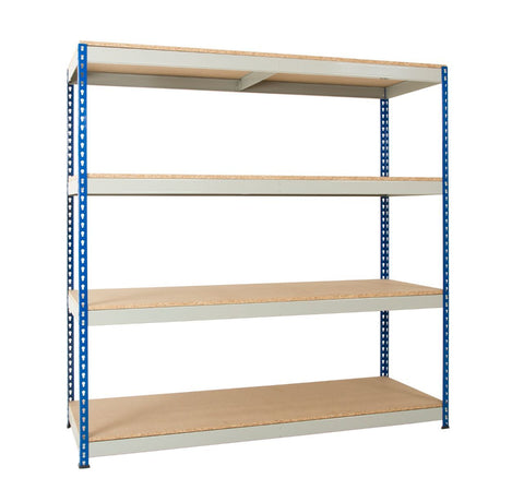 4 tier warehouse shelving
