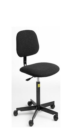 ESD Chair for Industrial Use with Castors charcoal