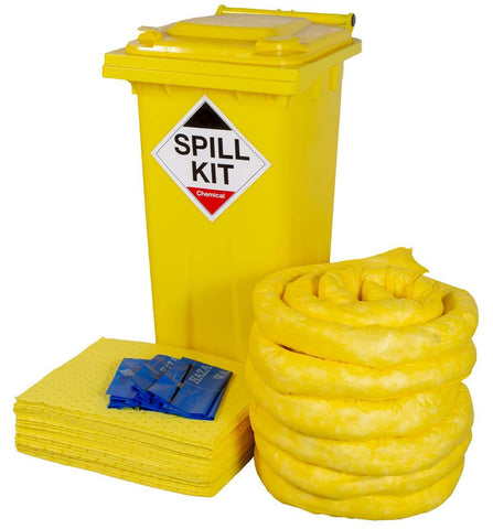 120 Litre Chemical Spill Kit