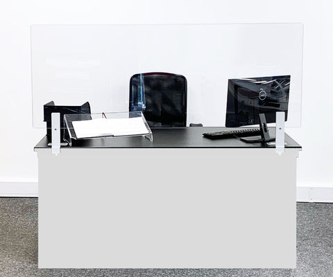 Clear Reception Desk Screens