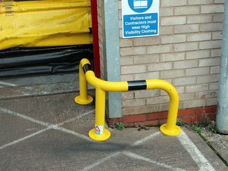 Small Corner Protection Hoop Barrier (50cm High)