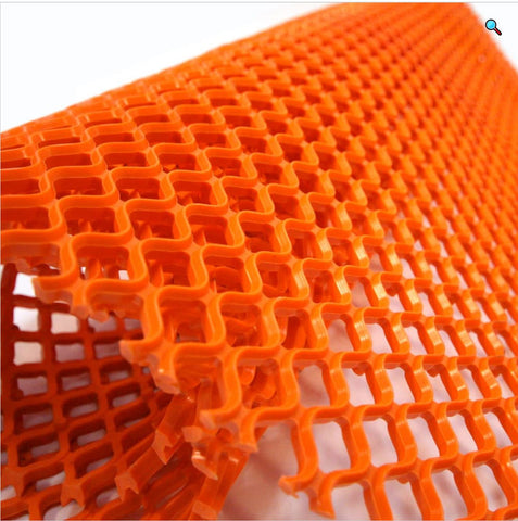 FlexiGrid Orange Kitchen Mats