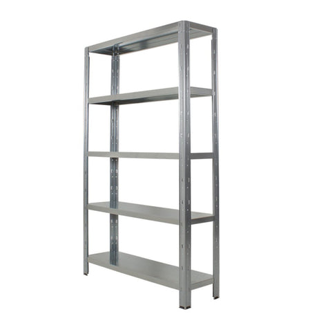 galvanised steel shelving