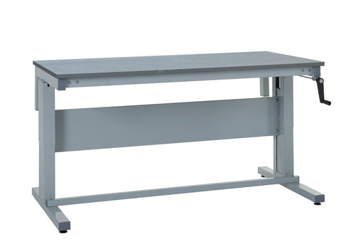Height Adjustable ESD Workbench - Lamstat Worktop