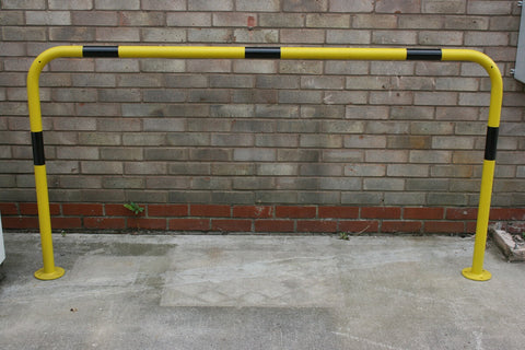 Black & Yellow Perimeter Hoop Barrier