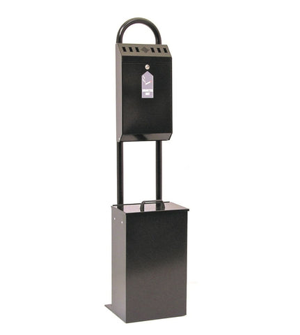 Stand Mounted Cigarette & Litter Bin