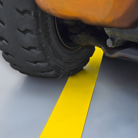 Steel Floor Tape for Forklift Truck Areas (75mm x 1.5m)