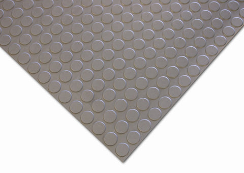 Studded Grey Flooring Roll