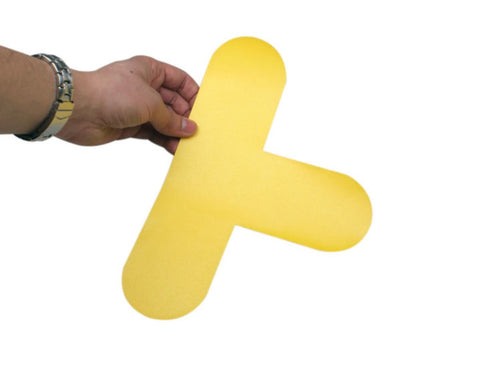 Self Adhesive Floor Markers - 'T' (Pack of 10)