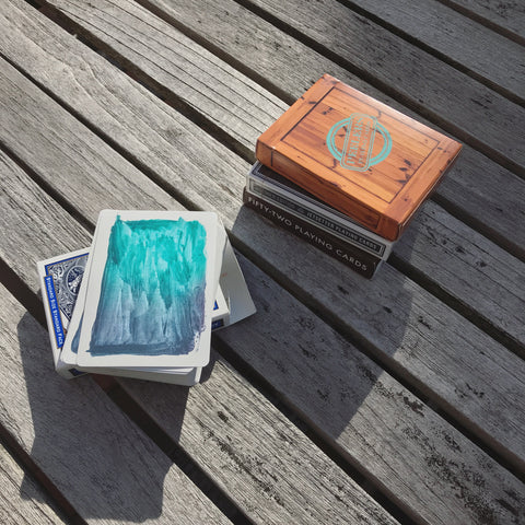 Color changing Playing cards