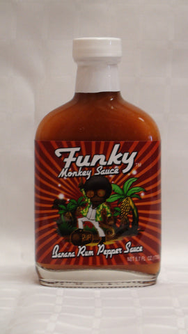 Funky Monkey Aged Red Pepper Sauce