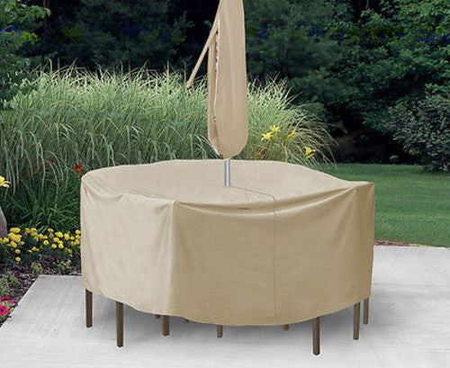 Patio Furniture Covers Outdoor Waterproof Umbrella Cover(6'-8'Umbrella Span)