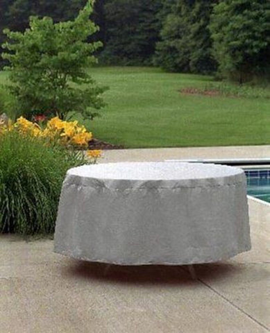 "Patio Furniture Covers Outdoor Waterproof Round Table Cover (54""D,20""H)"