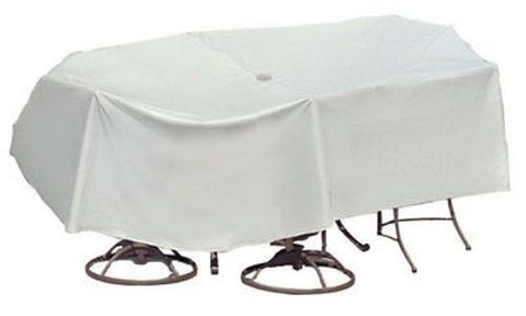 "Patio Furniture Covers Waterproof Rectangular Table&Chairs (135""L,80""W,30""H)"