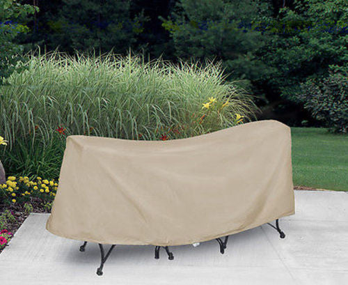 "Patio Furniture Covers Outdoor Waterproof Bistro Table&Chairs (54""D,30""H)"
