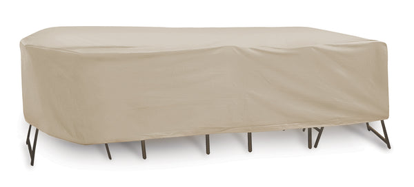 "Oval/Rectangular Table & Chair Combo Cover (135"" L x 60"" W x 30"" H)"