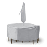 "Round Table and Chairs Combo Cover (80"" D x 30"" H)"