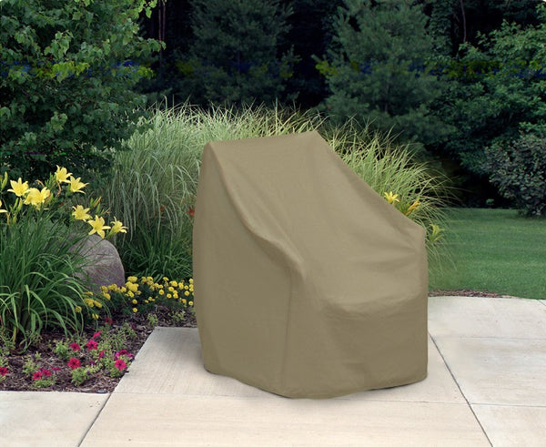 "Waterproof Patio Oversized Wicker Chair Cover (36"" L x 41"" W x 41"" H)"