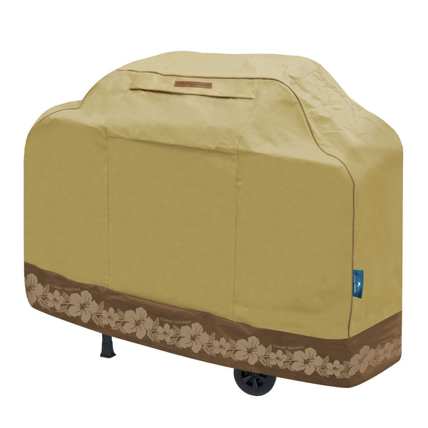 Tommy Bahama Medium Barbeque Cover, Tan/Brown