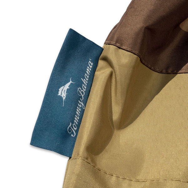 Tommy Bahama Lounge Deep-Seat Patio Chair Cover, Tan/Brown