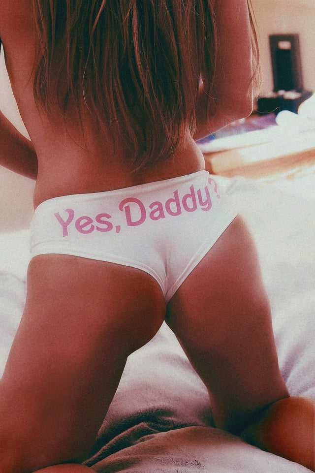 Yes, Daddy? Boy-short panties - Cali Diamond