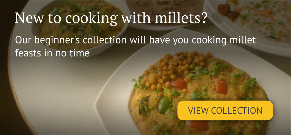 Bangalore's Millet Store - Buy Millets Online - Healthy Beginner Friendly Collection