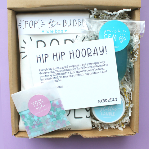 Hip Hip Hooray , Gift Parcel - Parcelly, Parcelly - 1