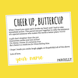 Cheer Up, Buttercup , Gift Parcel - Parcelly, Parcelly - 2