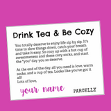 Drink Tea & Be Cozy ,  - Parcelly, Parcelly - 2