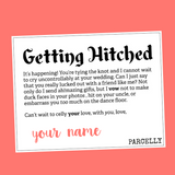 Getting Hitched , Gift Parcel - Parcelly, Parcelly - 2