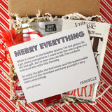 Merry Everything Mini , Gift Parcel - Parcelly, Parcelly - 1