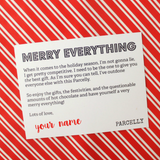 Merry Everything Mini , Gift Parcel - Parcelly, Parcelly - 4