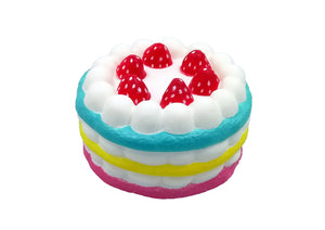 Squisny 3 Layer Strawberry Cake Squishes