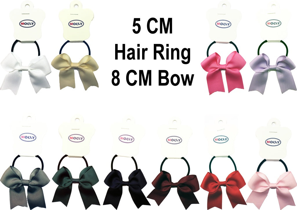 MO Hair Ring With 8 CM Bow