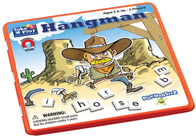 (Final Sale) PM Magnetic Travel Games Hangman