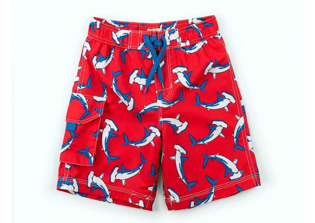 (Final Sale) Hatley Loop-The-Looping Board Shorts