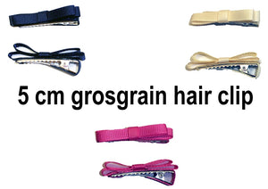 (Final Sale) MO Grosgrain Hair Clip
